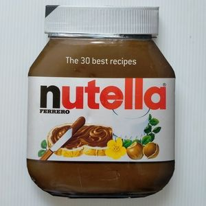 30 Best Nutella Recipes Nutella Shaped Hardcover Cook Book With Photos